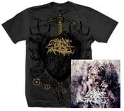 Image of Heart T-Shirt (Grey) + Pharmakos CD