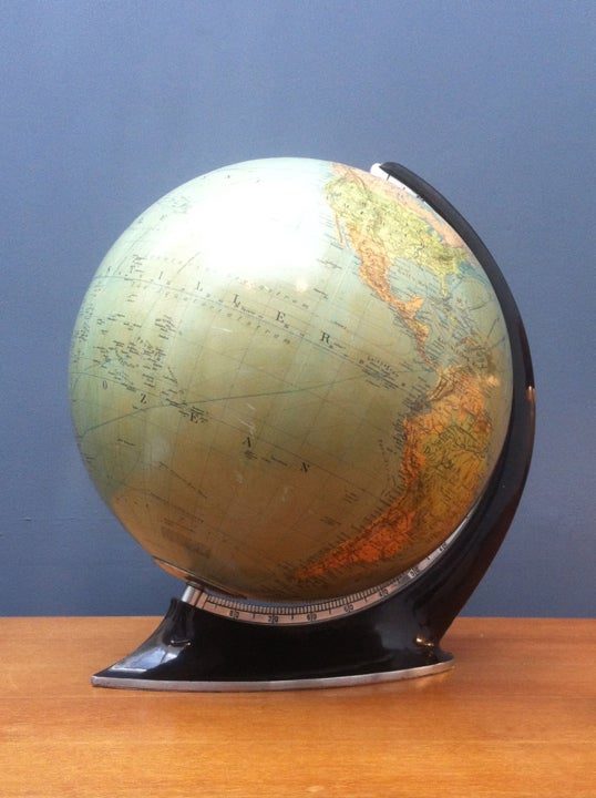 Image of Art Deco Globe