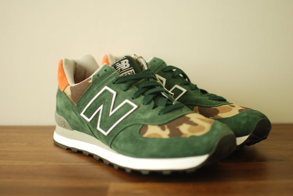 Image of Ball and Buck x New Balance US 574 Mountain Green