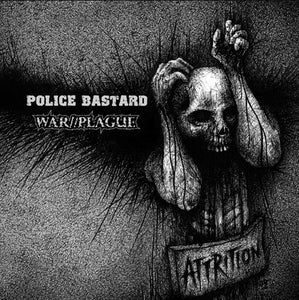 Image of WAR//PLAGUE w/ POLICE BASTARD split 12""