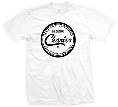 Image of The Original Charleo Seal Tee  White/Black