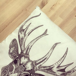 "Image of ""The Great Prince of the Forest"" cushion"