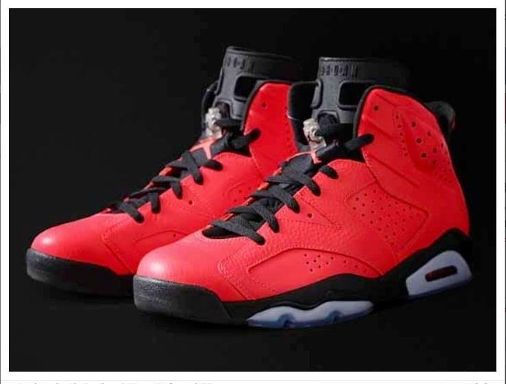 aba57ff1e783fa Image of Air Jordan 6 Retro Infrared 23