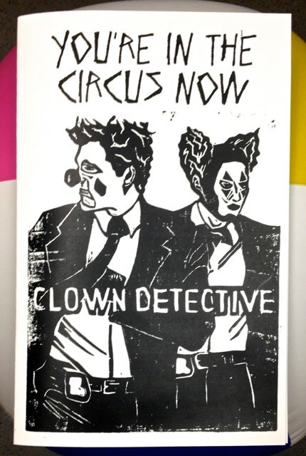 Image of Clown Detective Zine