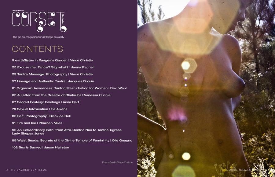 Image of Corset Magazine, Issue 9, Sacred Sex (Digital)