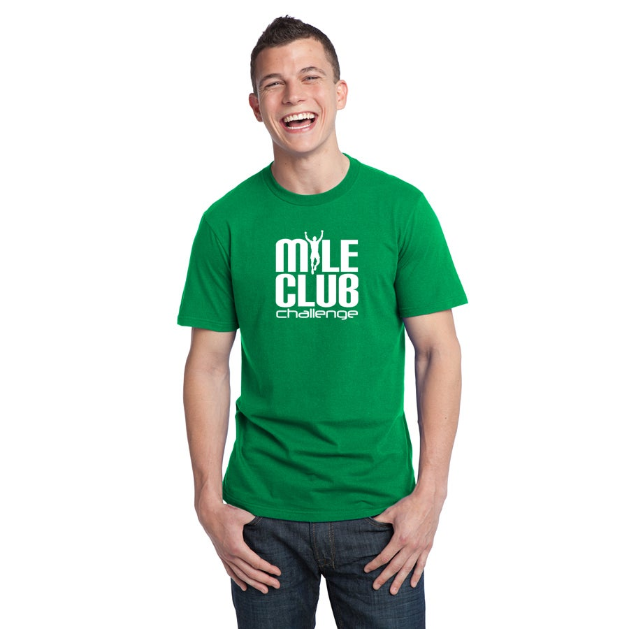 Image of Mile Club Mens Cotton Tee