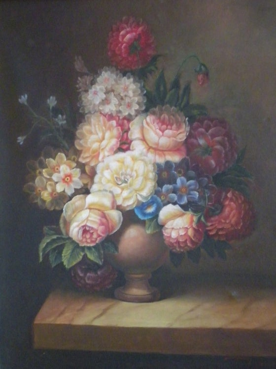 Image of Antique Oil Painting