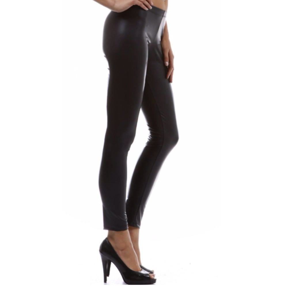 Image of Ladies - Leather leggings