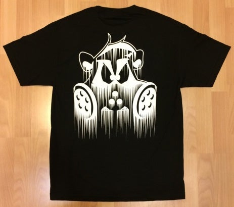Image of Dripped T Shirt | BLACK