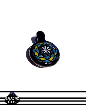 Image of Zach Strasburg Yellow, Black & Blue Fillacello Pendant
