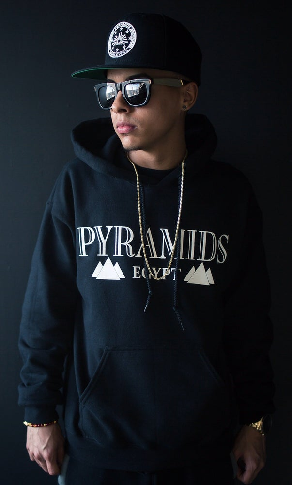"""Image of Limited """"Egypt"""" Pyramids Hoodie"""