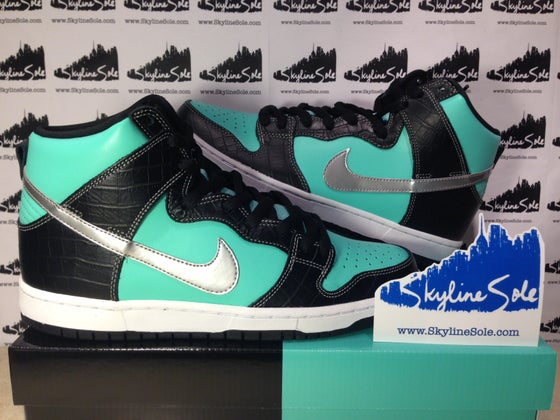 "Image of Nike SB x Diamond Supply Co. Dunk Hi ""Tiffanys"""