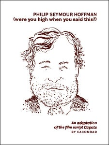 Image of Philip Seymour Hoffman (were you high when you said this?) / CAConrad