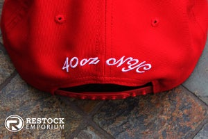 Image of 40 Oz ~ Givenchy ~ Inspired Stars Hat ~ {Red/White} ~ KITH Exclusive