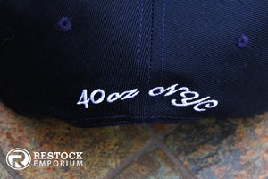 Image of 40 Oz ~ Givenchy ~ Inspired Stars Hat ~ {Navy/White} ~ KITH Exclusive