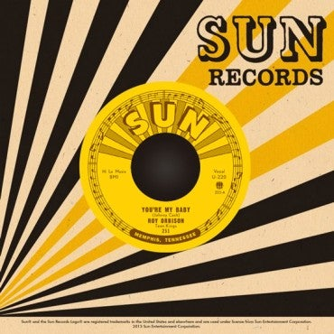 Image of Roy Orbison and the Teen Kings - You're My Baby b/w Rockhouse