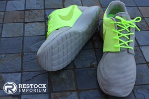 "Image of Nike Roshe Run QS ""Two-Faced"" - Classic Stone & Squadron Green"