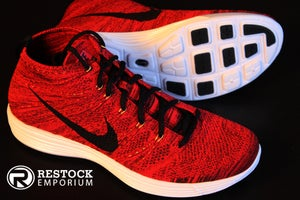 "Image of  Nike Lunar Flyknit Chukka ""University Red"""