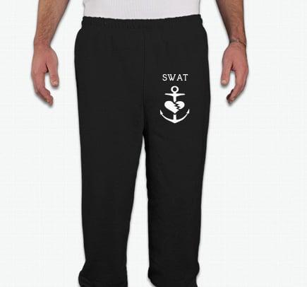 Image of SWAT Sweatpants (Unisex Black)
