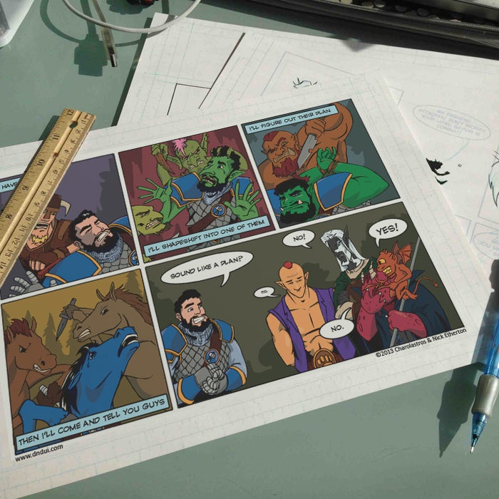 Image of Full Colour Print - Webcomic of Your Choice