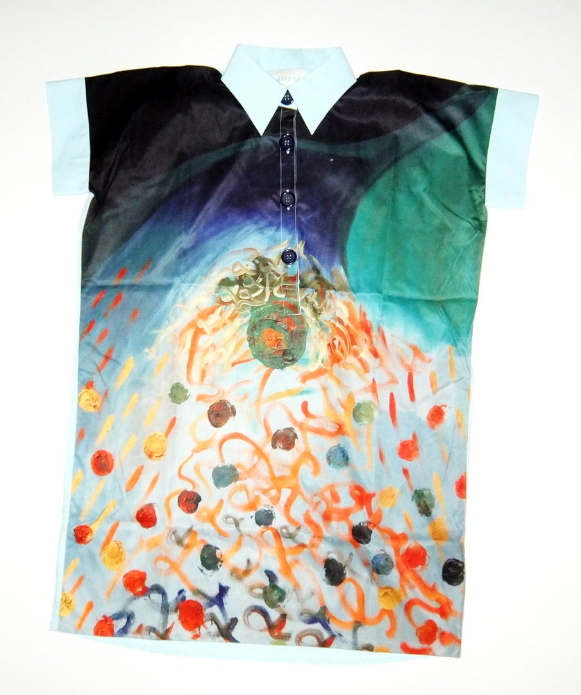 Image of Thunder Oversize Long Shirt-Dress