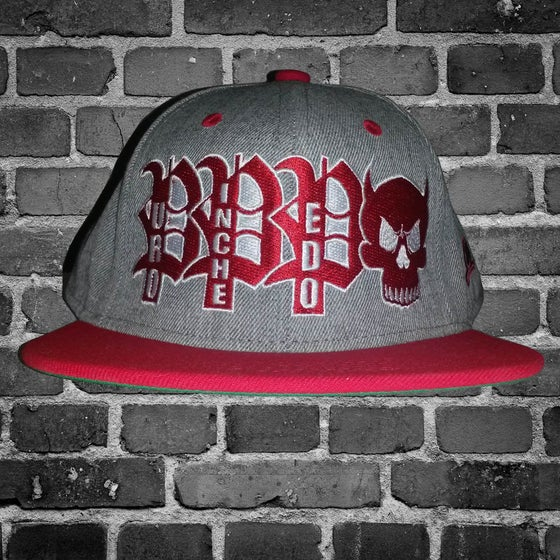 Image of PPP Logo skull cap/Red