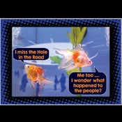 Image of I wonder what happened to the people?' Greeting Card *Free P&P*