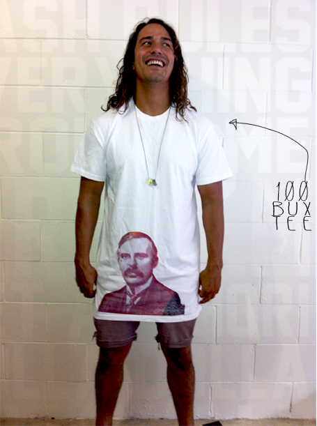 Image of 100 BUX TEE