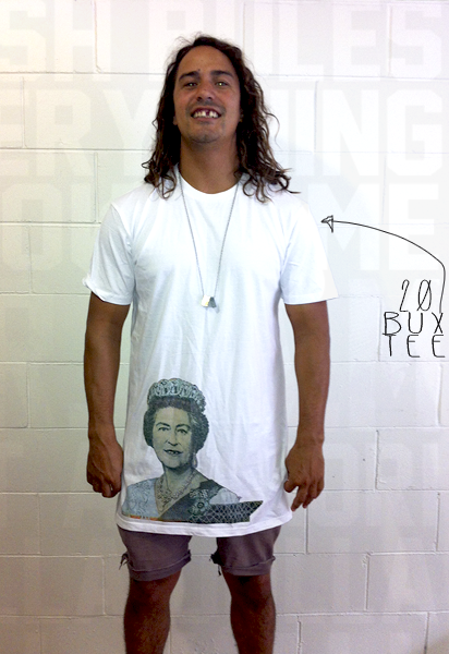 Image of 20 BUX TEE