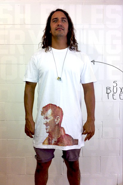 Image of 5 BUX TEE