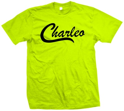 Image of The Original Charleo Crew  Safety Green/Black