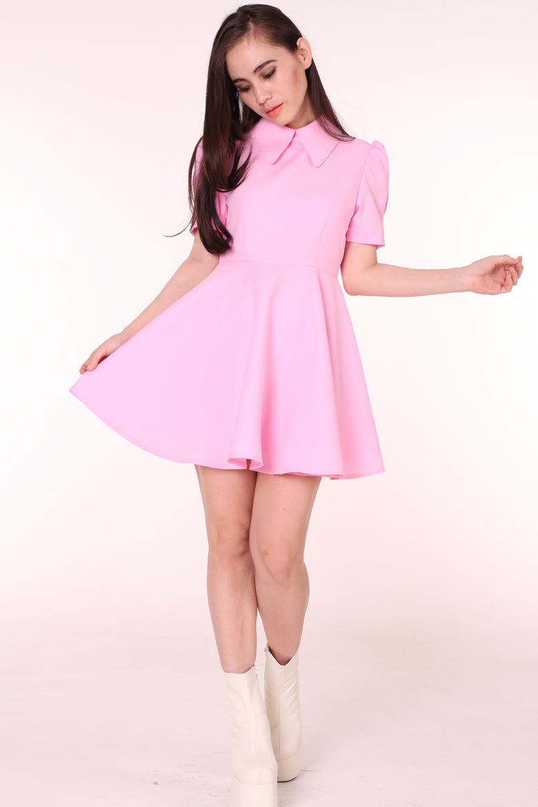 Image of In Stock- Pink Alice Dress