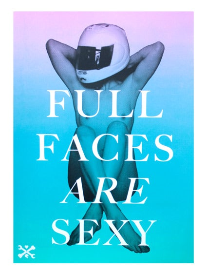 Image of Full Faces Are Sexy custom poster
