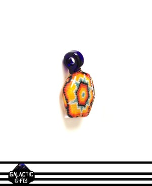 Image of Robin Moore Fire & Ice Colour Scheme Sacred Geometry Pendant