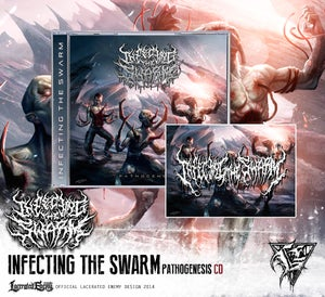 Image of INFECTING THE SWARM - CD