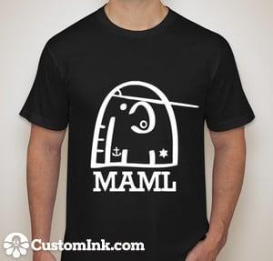 Image of MAML Attire RRock SStar TT-Shirt Black or White