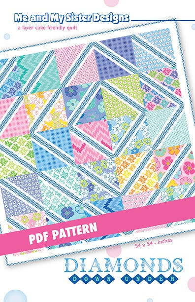 Image of Diamonds Down Under PDF pattern