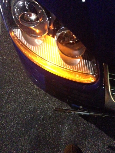 Image of Amber Front Turn Signal - Bright - Error Free fits: MKV GTI/Golf