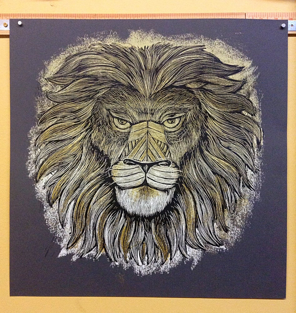 Image of Iron Lion Charcoal Colorway