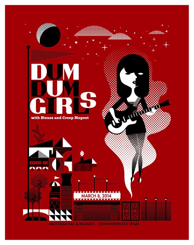 Image of Dum Dum Girls (R)