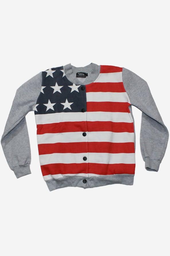 Image of Lady's USA Olympic Varsity Sweater