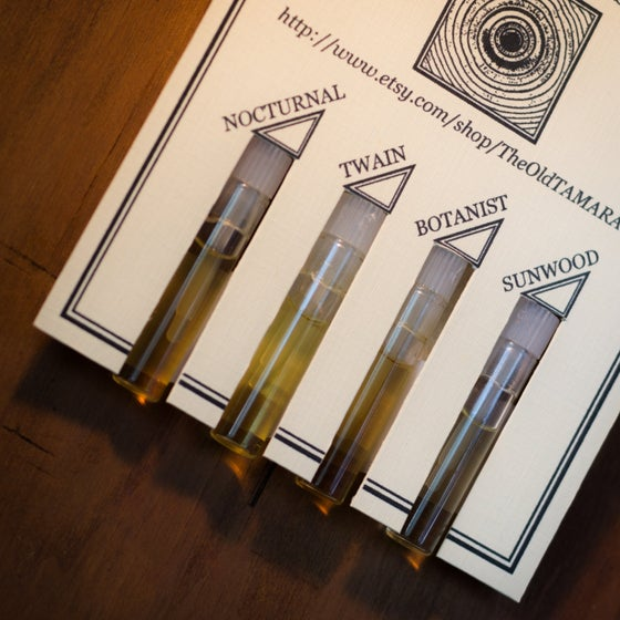 Image of NATURAL COLOGNE SAMPLER KIT