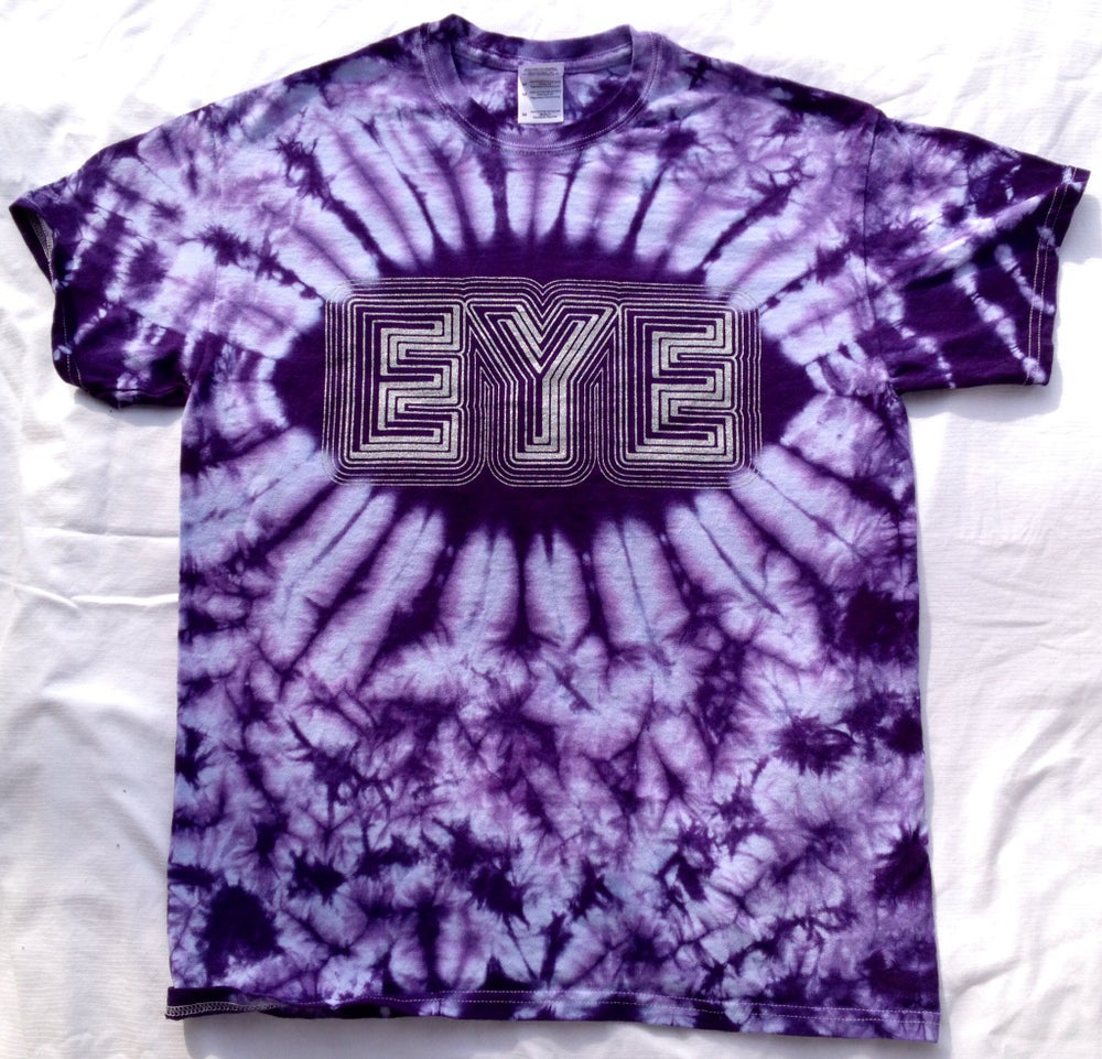 Image of EYE t-shirt- Tie-Dye (Purple)