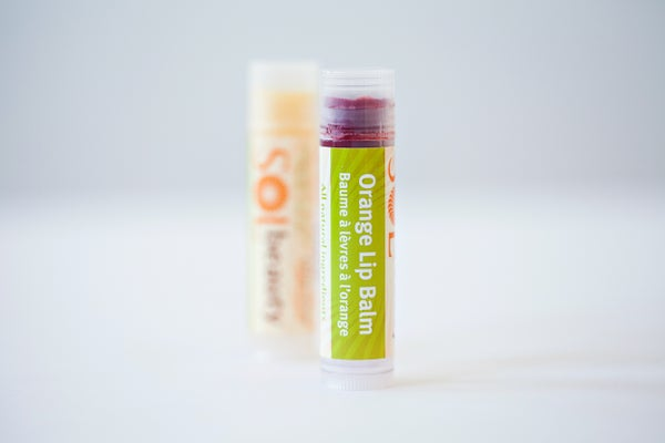 Orange Lip Balm - Sol  Beauty