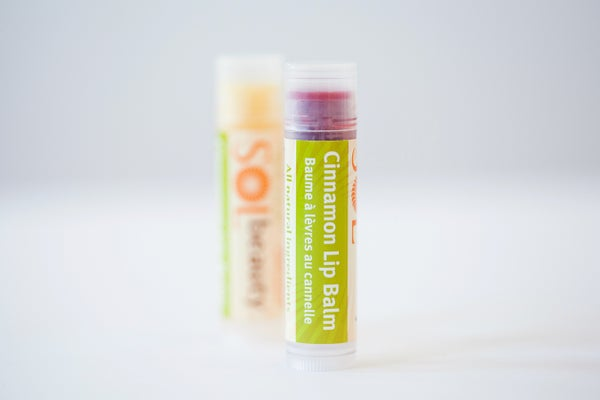 Cinnamon Lip Balm - Sol  Beauty