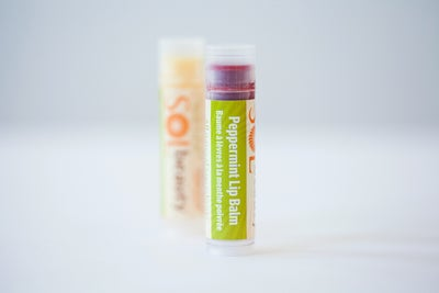 Peppermint Lip Balm - Sol  Beauty