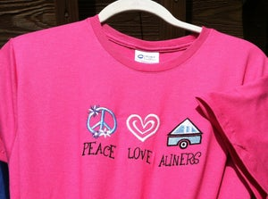 Image of Peace Love & Aliners