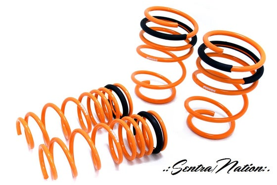 Image of (B15) Megan Racing Lowering Springs (ALL b15 Sentra)