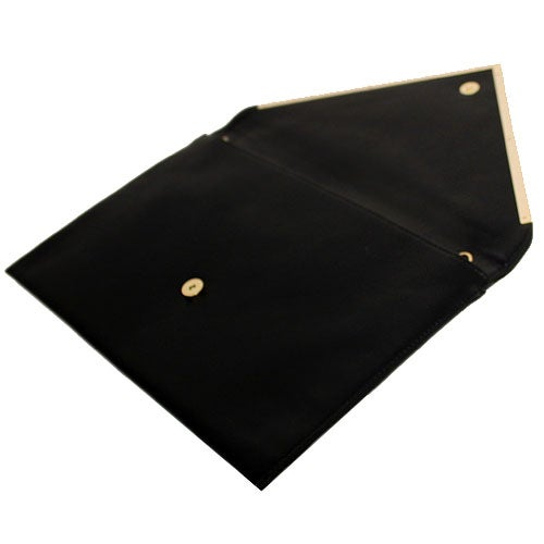 Image of Envelope Leather Clutch