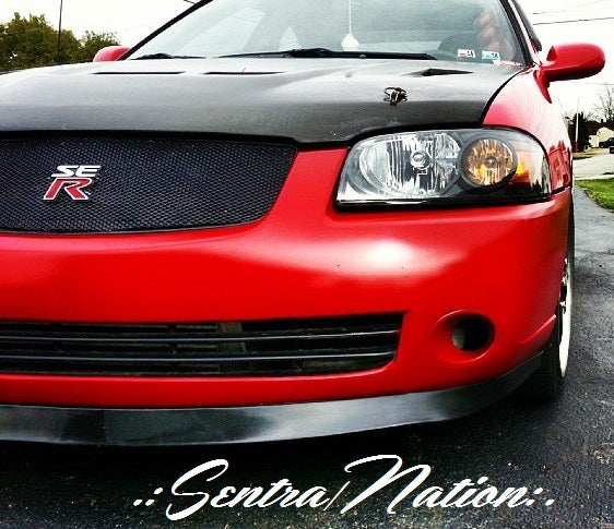 Image of (B15) M-Sport Polyurethane Front Lip 04-06 Sentra (All trim)